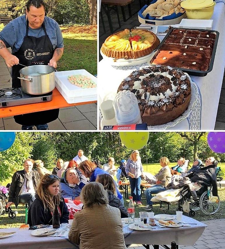 Herbstfest in unseren Wohngemeinschaften